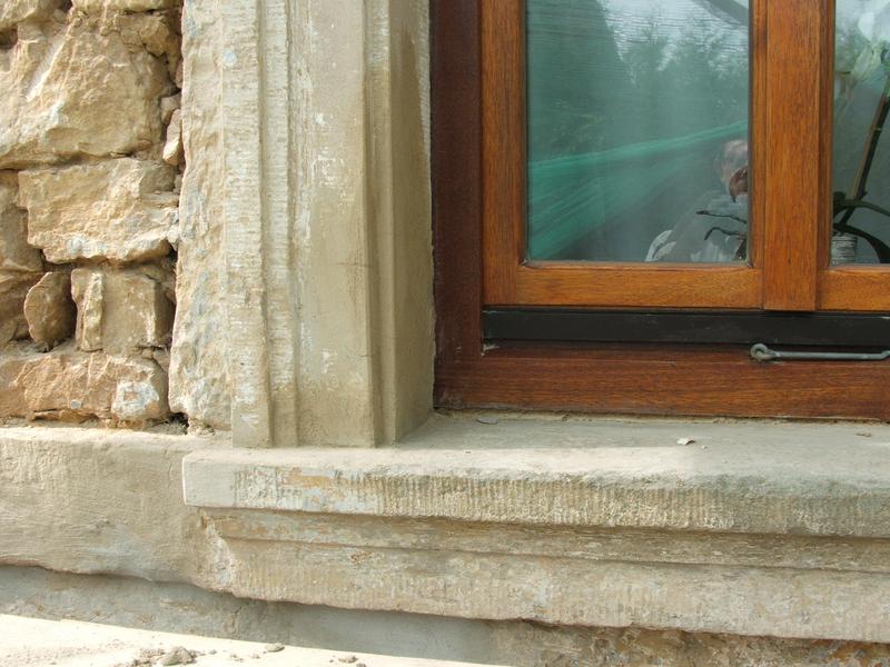Bauen mit Naturstein - Außenbereich verschönern: Fensterbänke
